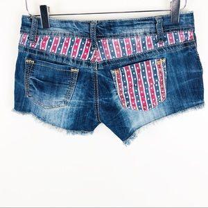 Hot kiss coco denim shorts size 3